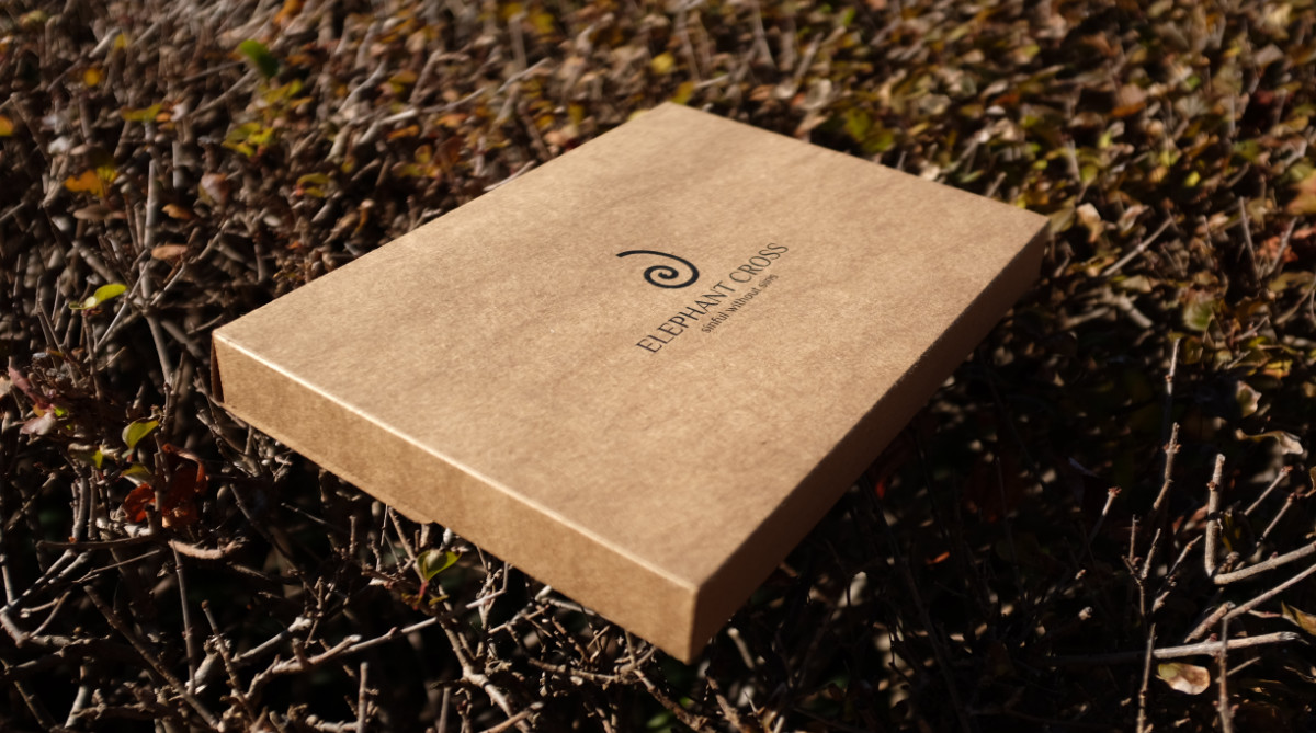Elephant Cross sustainable packaging