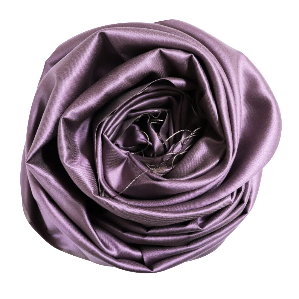 Shades of lavender silk scarf rose